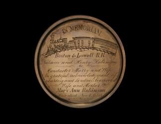 Boston & Lowell Railroad - In Memoriam, Mary Ann Robinson