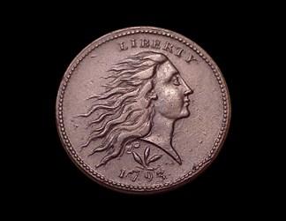 1793 1c, S-9