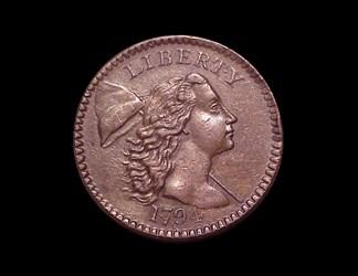 1794 1c, S-43