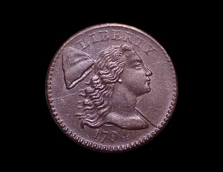 1794 1c, S-56