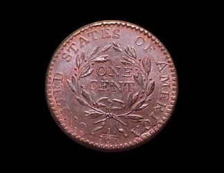 1794 1c, S-57