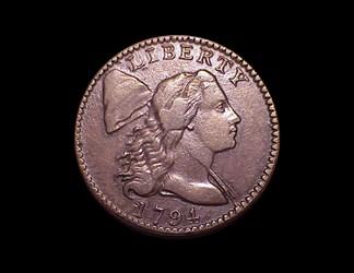 1794 1c, S-66