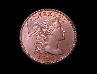 1794 1c, S-67