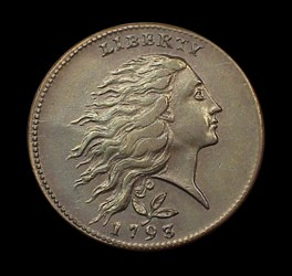 1793 1c, S-6b