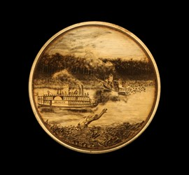 Tuscaloosa Steamship Lifesaving Medal