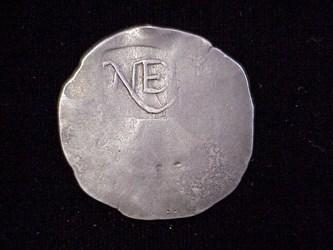 1652 New England Shilling, N3B