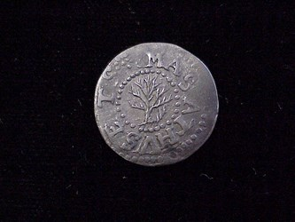 1652 Oak Tree Threepence, N27