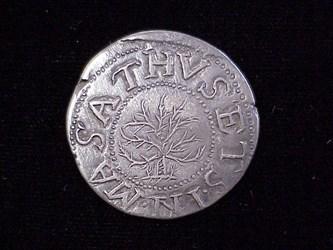 1652 Oak Tree Shilling, N5
