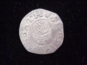 1652 Pine Tree Shilling, N10