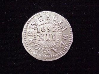 1652 Pine Tree Shilling, N16