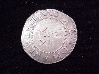1652 Pine Tree Shilling, N1
