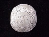 1652 Pine Tree Shilling, N4