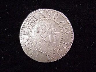 1652 Pine Tree Shilling, N5