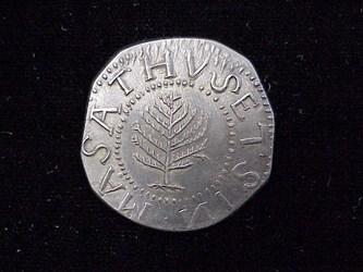 1652 Pine Tree Shilling, N6