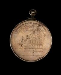 British Hand-Engraved Textile Medal