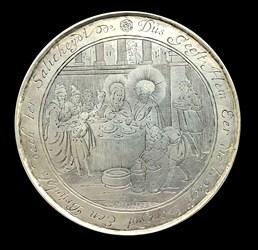 1660, wedding at Cana burning heart