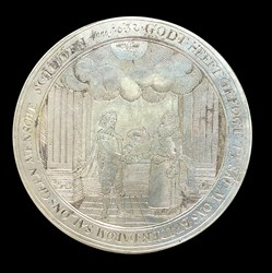 1632, wedding medal box