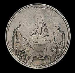 17th century, Christ & couple