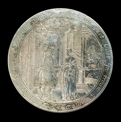 1620, silver medal box