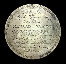 1707, death medal