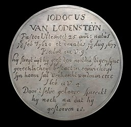 1677, death medal