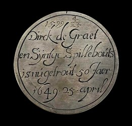 1649, 50th anniversary medal