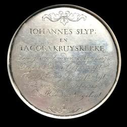 1717, wedding anniversary medal