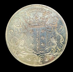 1781 Latin school medal