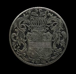 1775, wedding medal