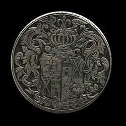 1775, wedding medal