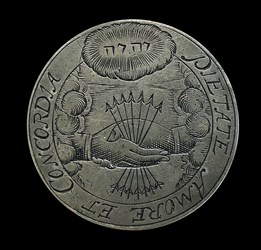 1659, wedding medal