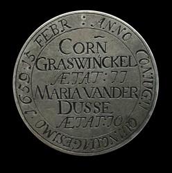1659, wedding medal