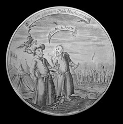 1650, Oliver Cromwell medal