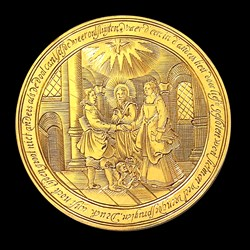 1660, Christ view medal