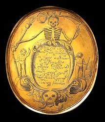 1686, death medal, Sara Hendrix van Rijnberk