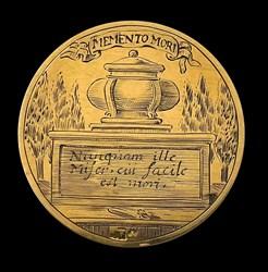 1699, funeral medal by van Tilbough