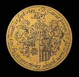 1699, funeral medal by van Tilbough