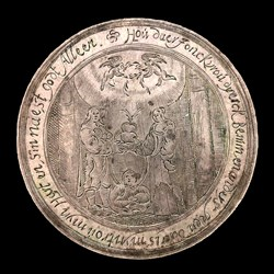 1625, marriage medal