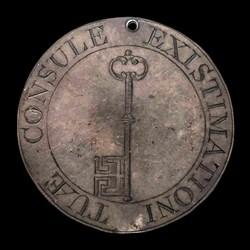 17th century Chancellory, key