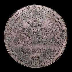 1664, tow path Leiden to Utrecht