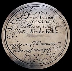 Birth of Foecke Kolde