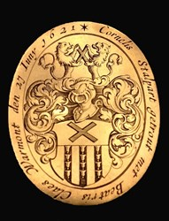 1621 Wedding Medal