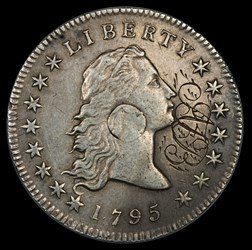 Eclectic Numismatic Treasure (Engaved 1795 Dollar)