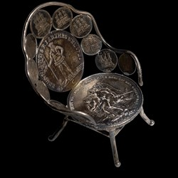 Eclectic Numismatic Treasure (Coin Furniture)