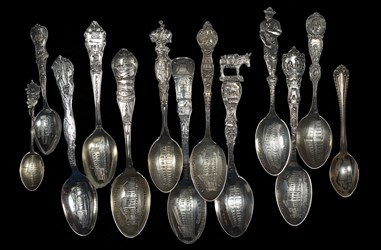 Eclectic Numismatic Treasure (Coin Spoons)