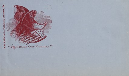 S. W. Zahm & Co., Publishers: God Bless Our Country Envelope