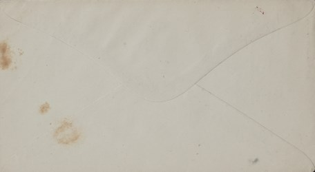 Reverse of A.S. Robinson, Hartford CT. Envelope: McClellan is some Pumpkins. Ha! Ha! Ha! Yes.