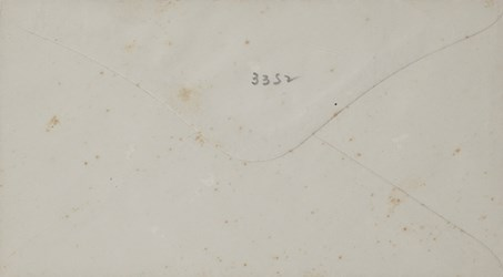 Reverse of A.S. Robinson, Hartford Envelope: The Night Will Soon Be Past?