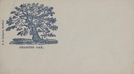 A.S. Robinson, Hartford Envelope: Charter Oak