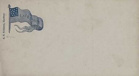 A.S. Robinson, Hartford Envelope: Excelsior